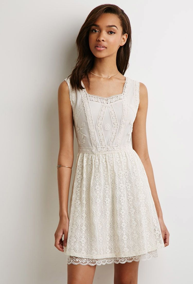 Embroidered fit flare dress forever 21 canada short
