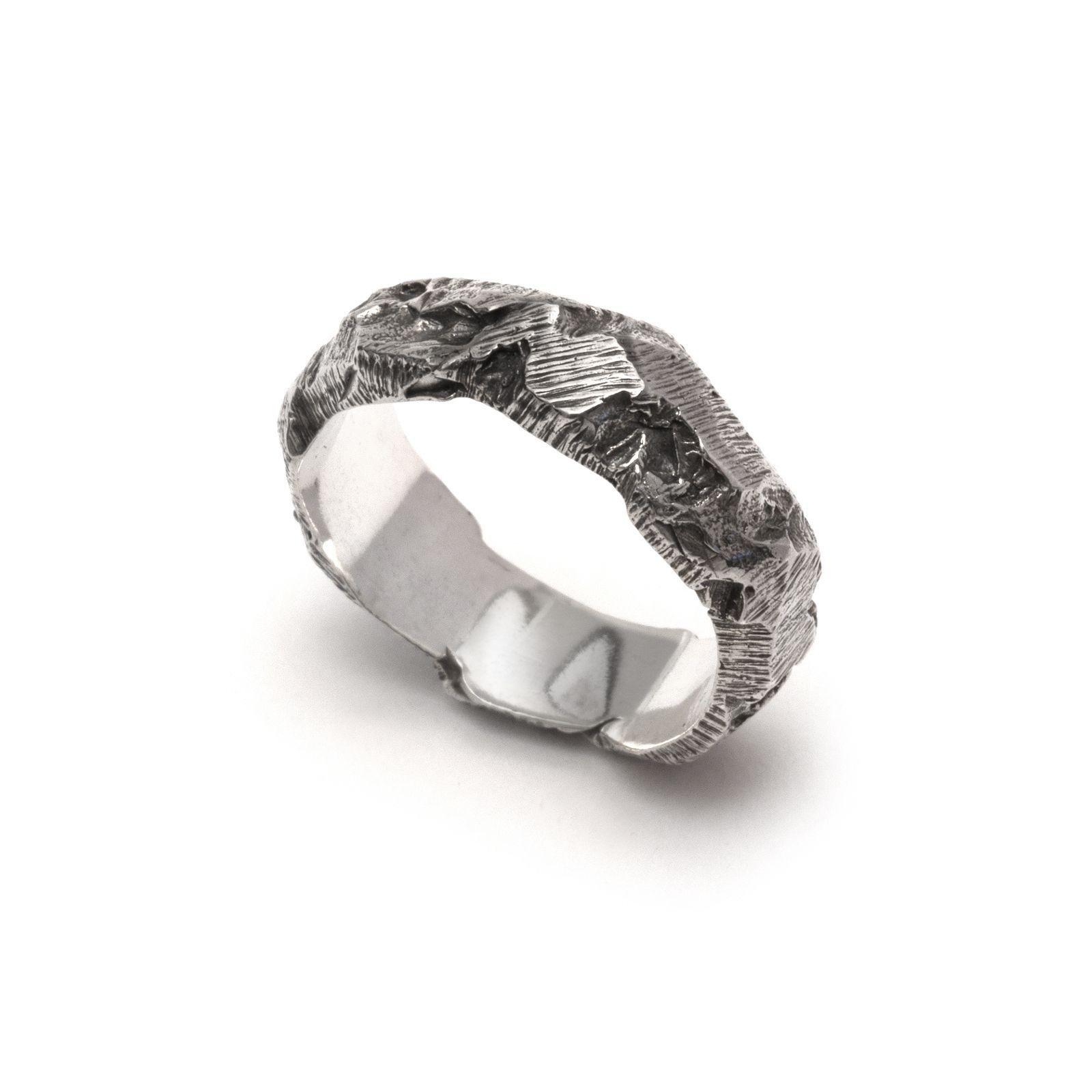 Ash Ring ALICIA HANNAH NAOMI Contemporary metal atelier