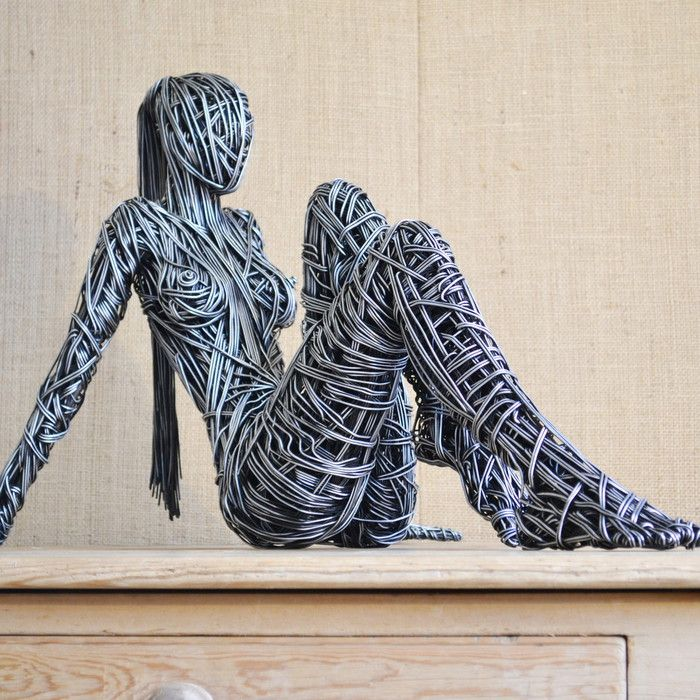 The original wire sculptures of Richard Stainthorp | inspirations ...