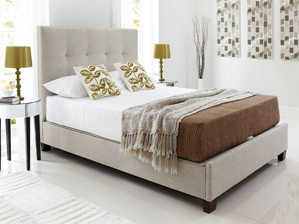 Kaydian Walkworth Fabric Ottoman Bed Free Delivery Ottoman Bed