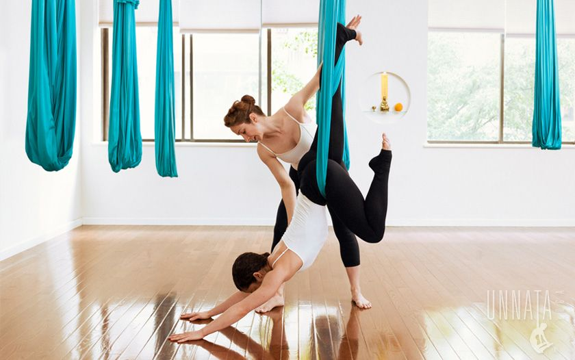 , founder of Unnata ® Aerial Yoga, is an E-RYT 200 ...