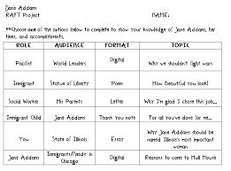 raft writing rubric