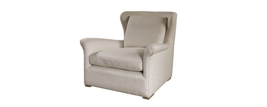 Classic Wingback Slipcovered Swivel Glider Dylans Room
