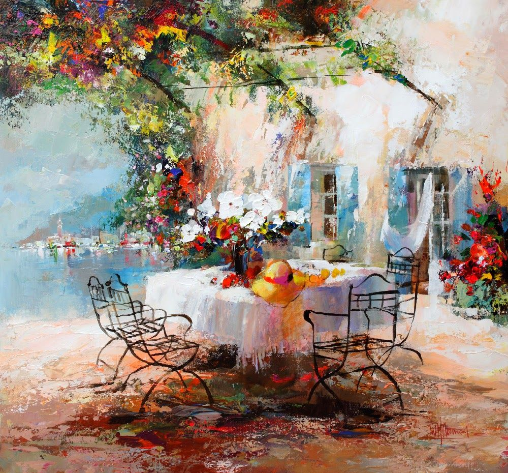 Famous Line Art Paintings : Willem haenraets kai fine art