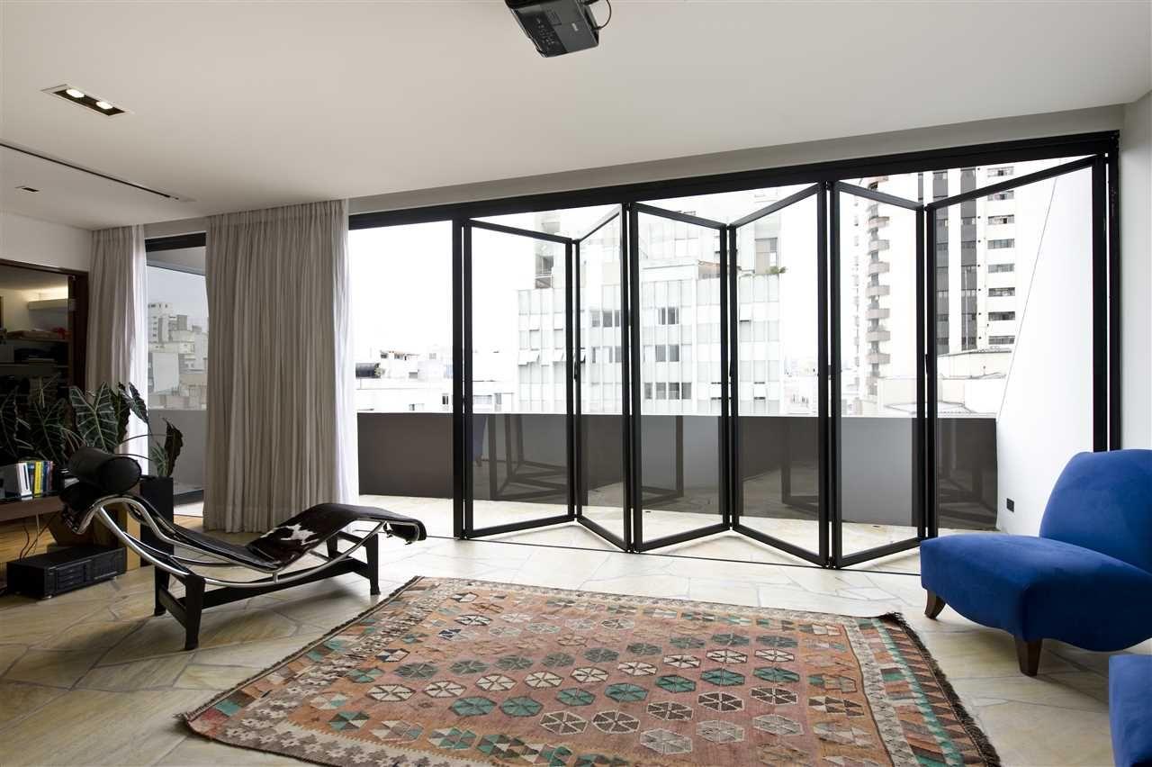 Solarlux glas vouwwand terras serre balkon sl aluminium