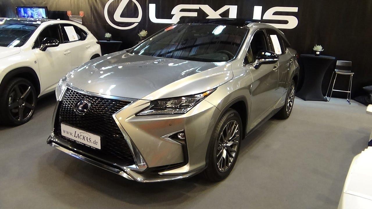 2018 Lexus RX450h Hybrid SUV Premium Specs, Interior