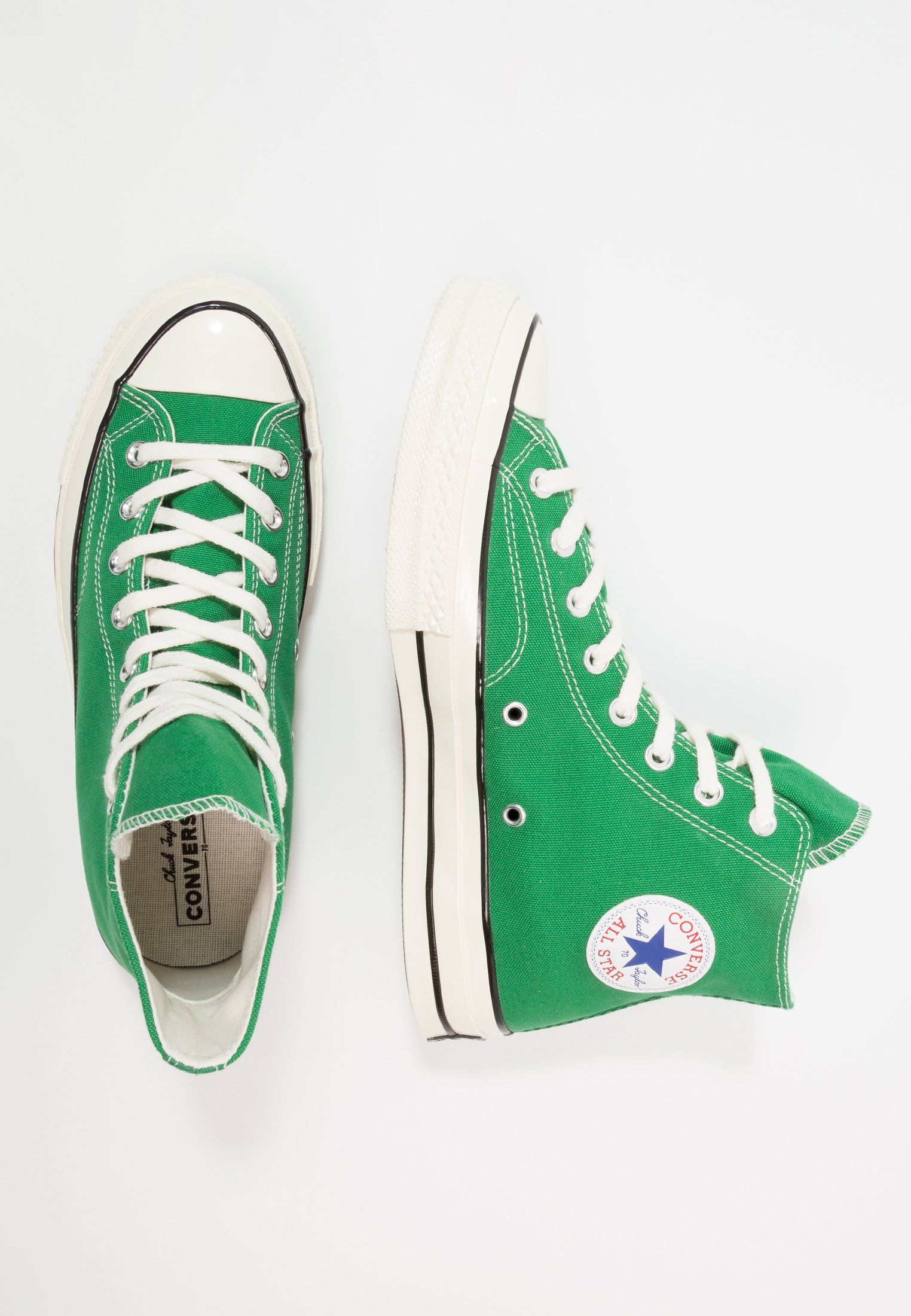0671301e7dbfd CHUCK TAYLOR ALL STAR '70 HI - Baskets montantes - green/black/egret ...