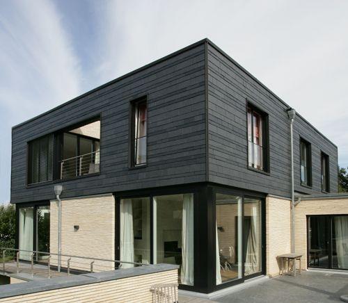 bildergebnis f r schieferfassade modern haus pinterest fassaden architektur und h uschen. Black Bedroom Furniture Sets. Home Design Ideas