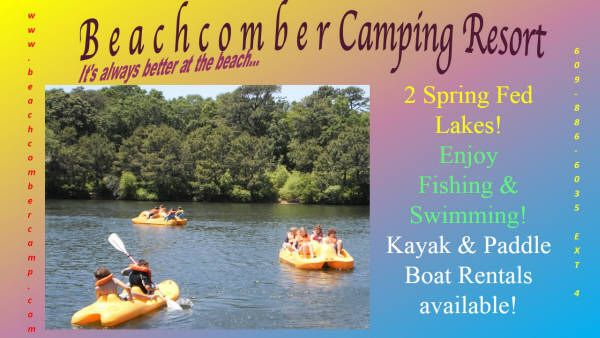 Beachcomber Camping Resort, Cape May, NJ   Camping Bucket