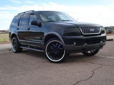 2004 Ford Explorer Black Beauty Ed Is The New Blacked Out Expression