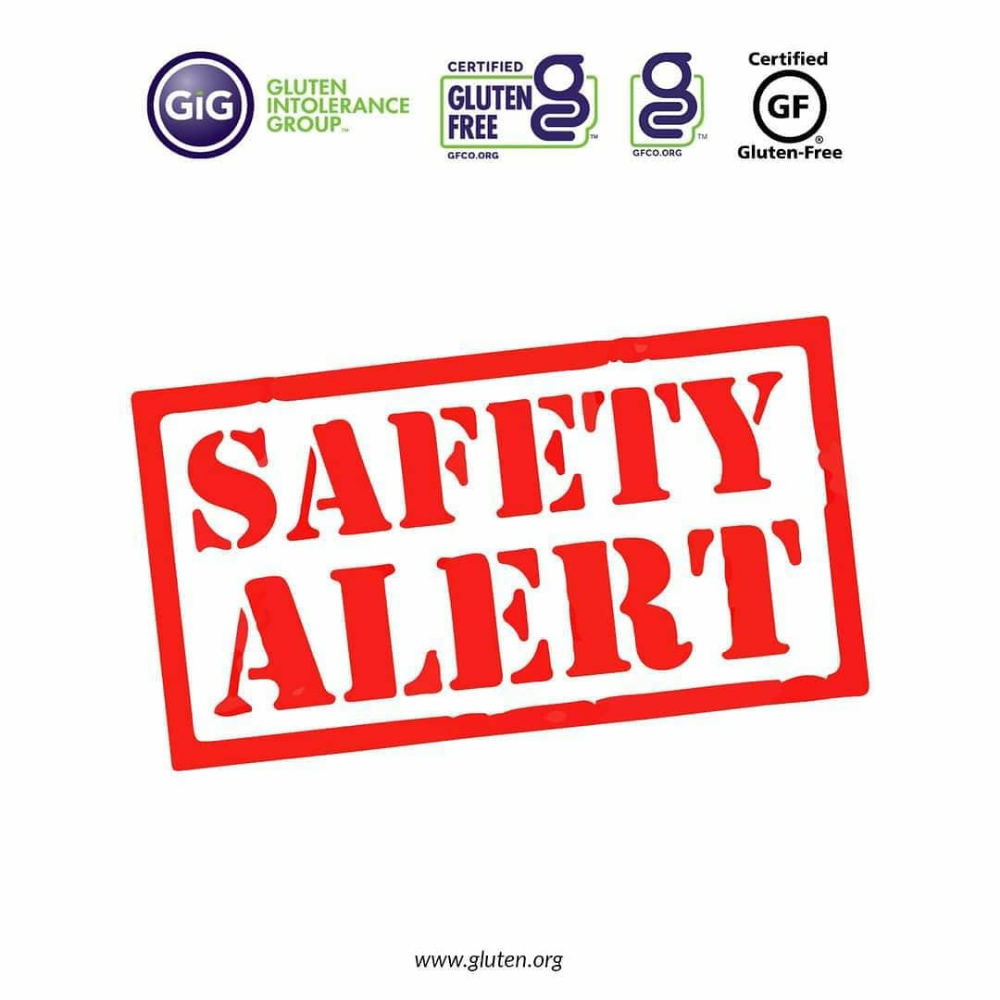 Gluten Intolerance Group On Instagram Gfco Has Been Informed That Toufayan Is Initiating A Voluntary Recall Of G Gluten Intolerance Free Tutorial Intolerance