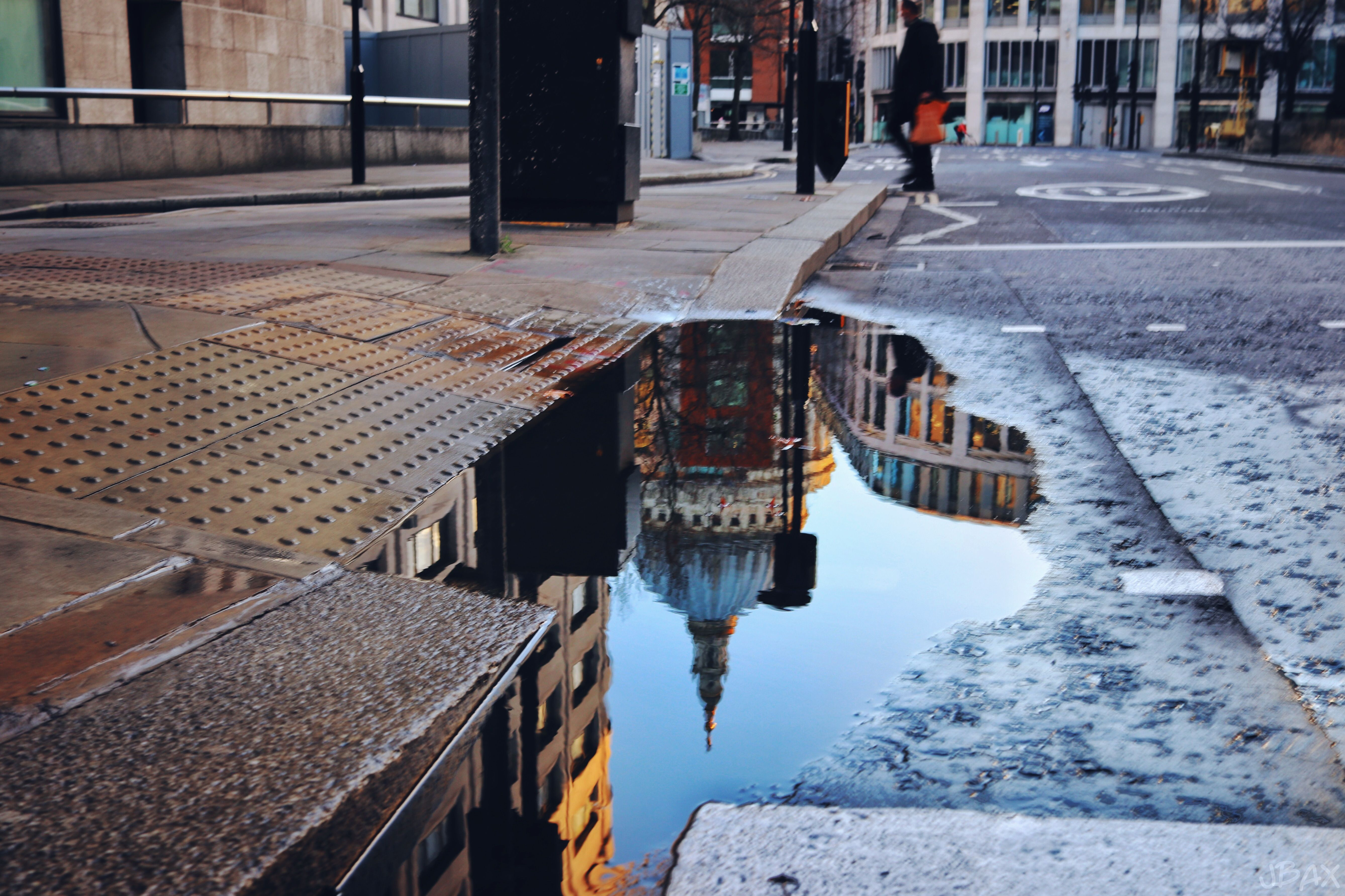 St Paul S Puddle Reflection In London Uk Water Reflections Reflection Photography Landscape Photography