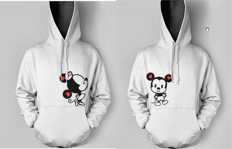 Hoodies Buzos, Sacos Diseños Parejas Novios Mickey Minnie a $ 50000.Ropa y Accesorios, Otros, Hombre en ElProducto.co Bogota D.C.