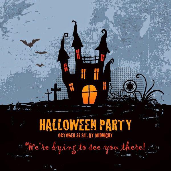 Vector Para Crear Un Afiche Para Fiesta De Halloween Halloween Party Poster Halloween Party Party Poster