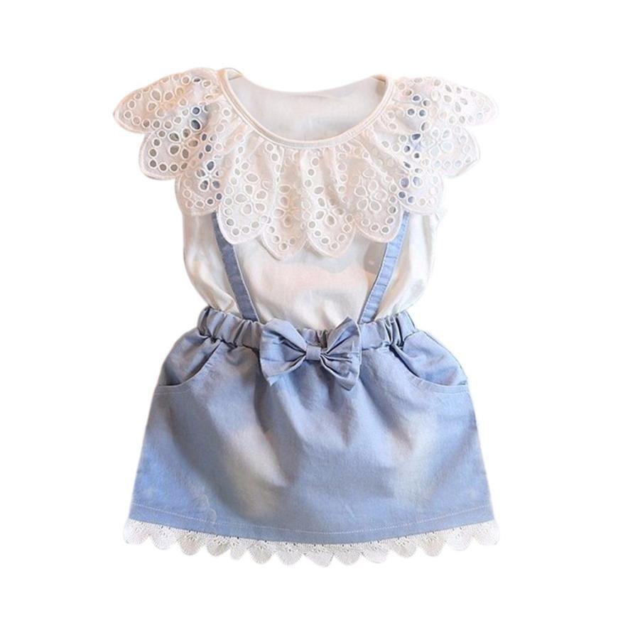 Летние платья для девочек в 2019 году