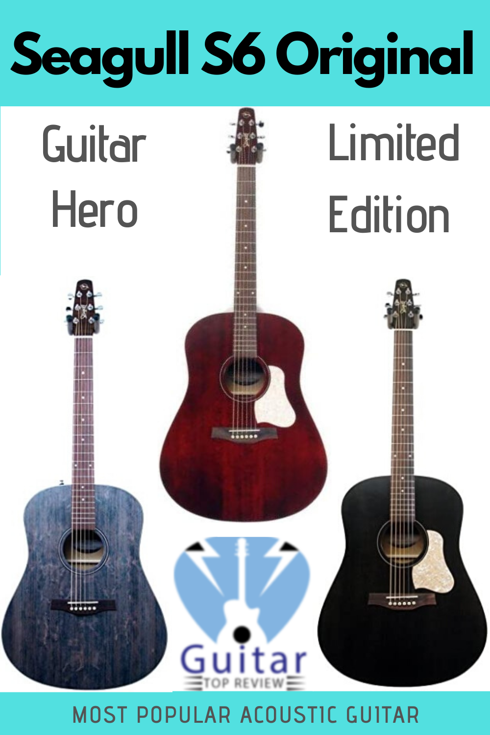 Complete Seagull S6 Review In 2020 Best Acoustic Guitar Guitar Guitar For Beginners