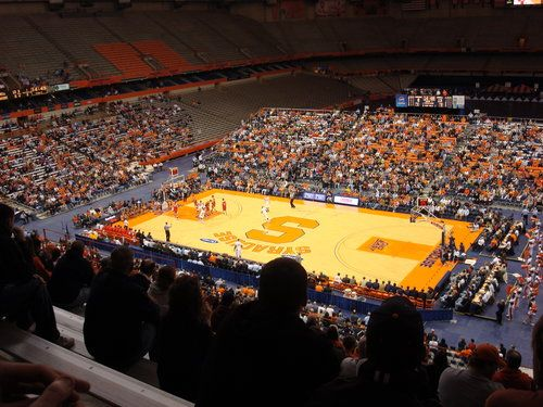 Carrier Dome Syracuse Basketball Never Stops Favorite