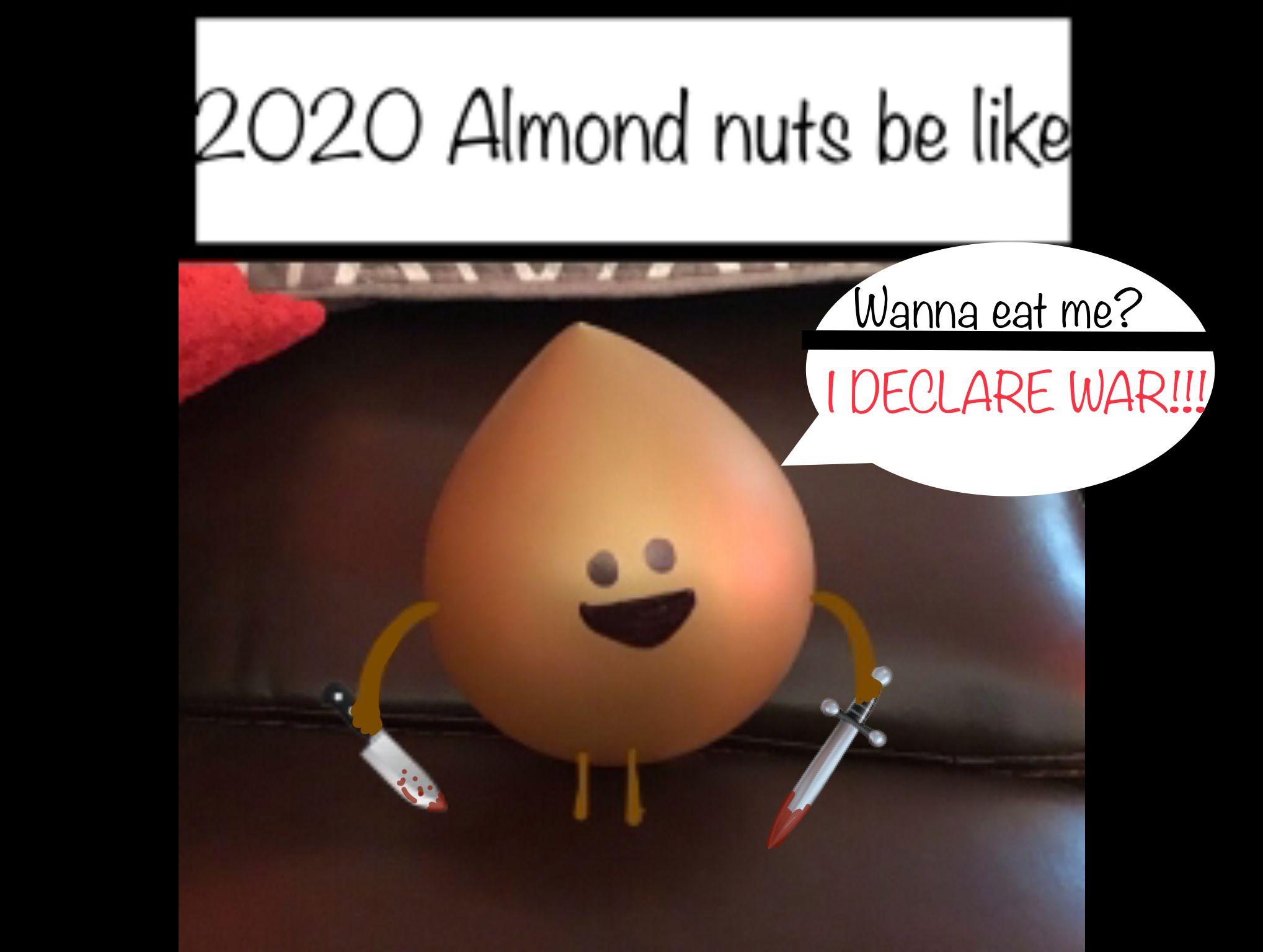 2020 Meme For You Almond Nut Memes Almond
