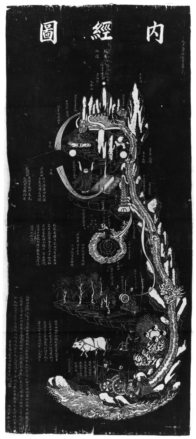 206739625921363ae68cco alchemy pinterest taoism and alchemy literally diagram of the inner scripture original stele from beijing diagram of internal pathways of man daoist microsomography of inner alchemy biocorpaavc Images