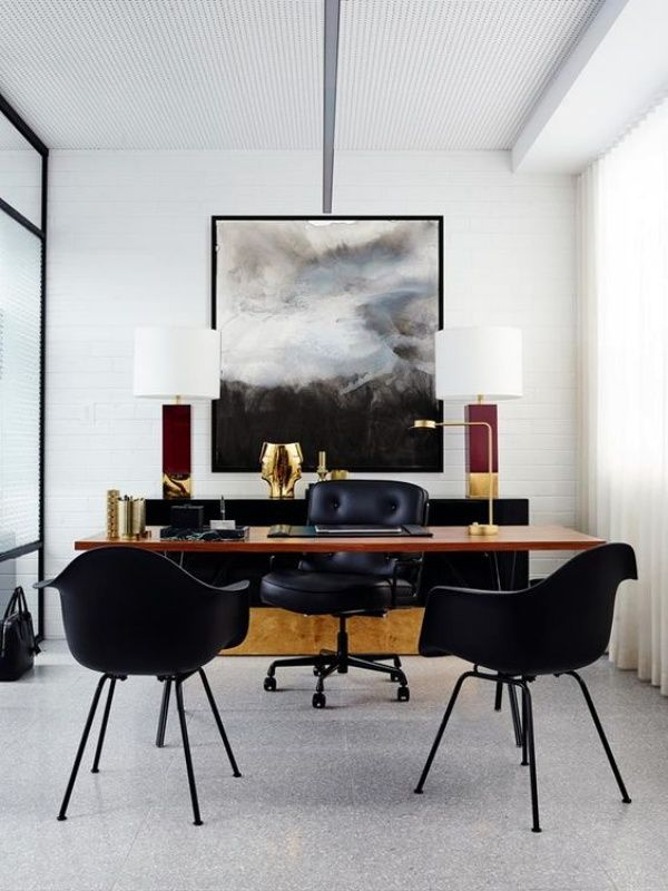 40 Simple And Sober Office Decoration Ideas Modern Office Decor