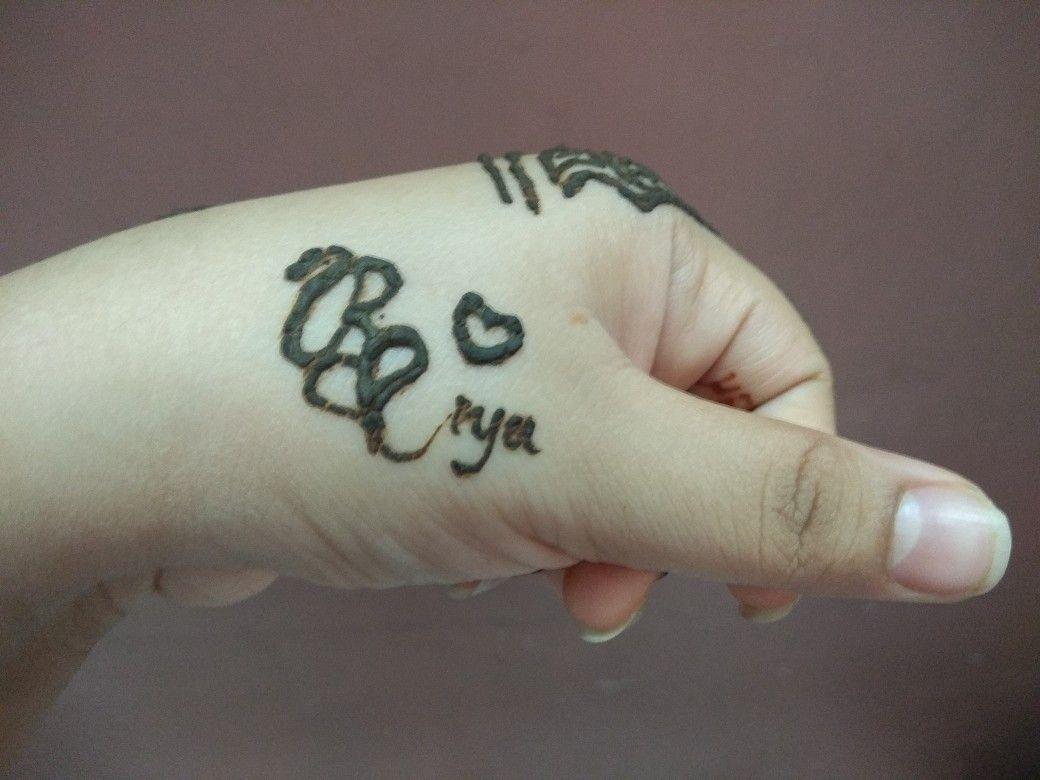 Riya Name Tatoo Henna Designs Tattoo Quotes Tattoos