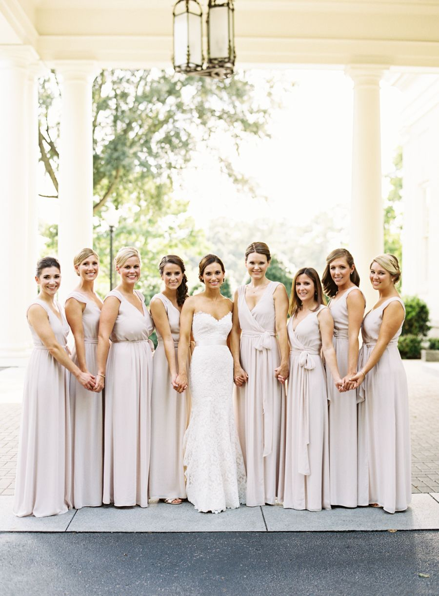 Unc college sweethearts have more to celebrate than just the final mix match bridesmaids ombrellifo Choice Image