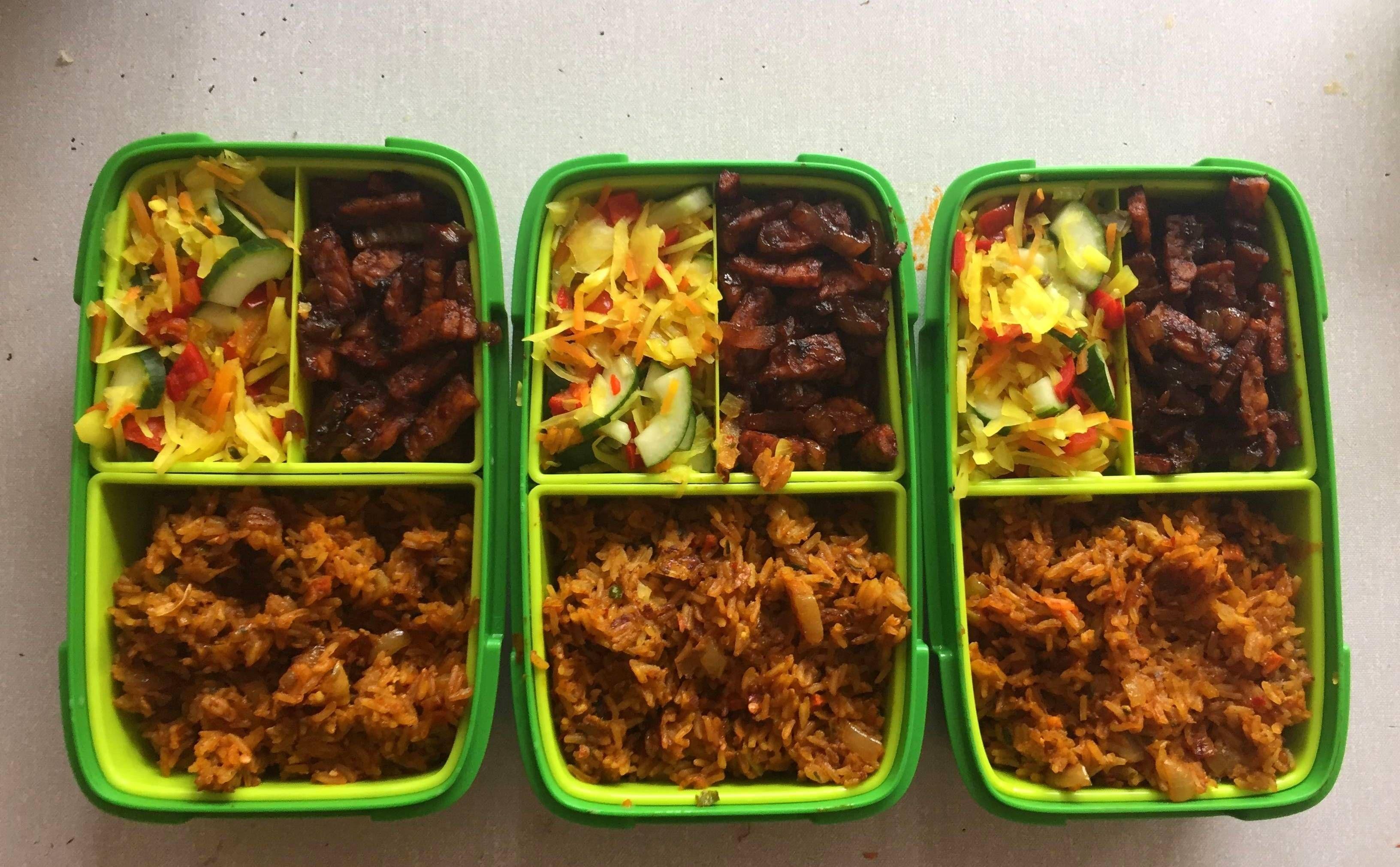 Basic Indonesian Mealprep (Vegetarian) #mealprepping #OneSimpleChange #mealprep #healthy #mealplanning #healthyliving #food #weightloss #sunday