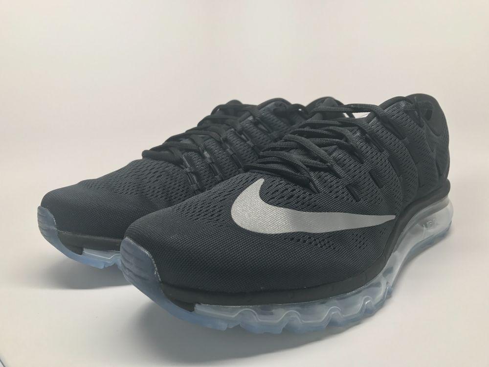 0ec48f85cc02 Nike Air Max 2016 Black White-Dark Grey 806771 001 Mens size 13 running  shoes  Nike  RunningCrossTraining