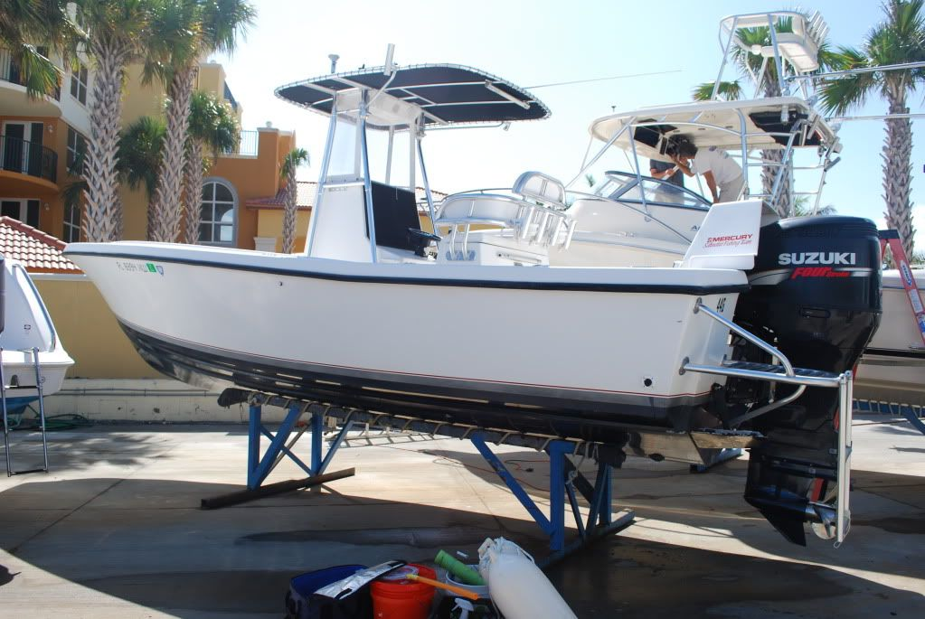 Swim platform on outboard   How!? - The Hull Truth - Boating