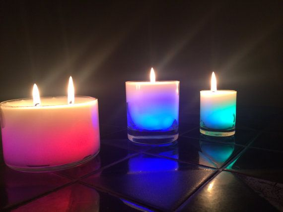 Real flame color changing candles. Matches all color by VoodooWix, $17.00