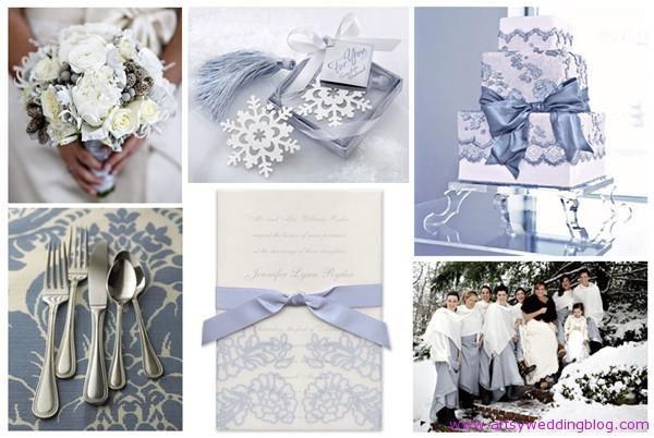 Winter Wedding Palettes