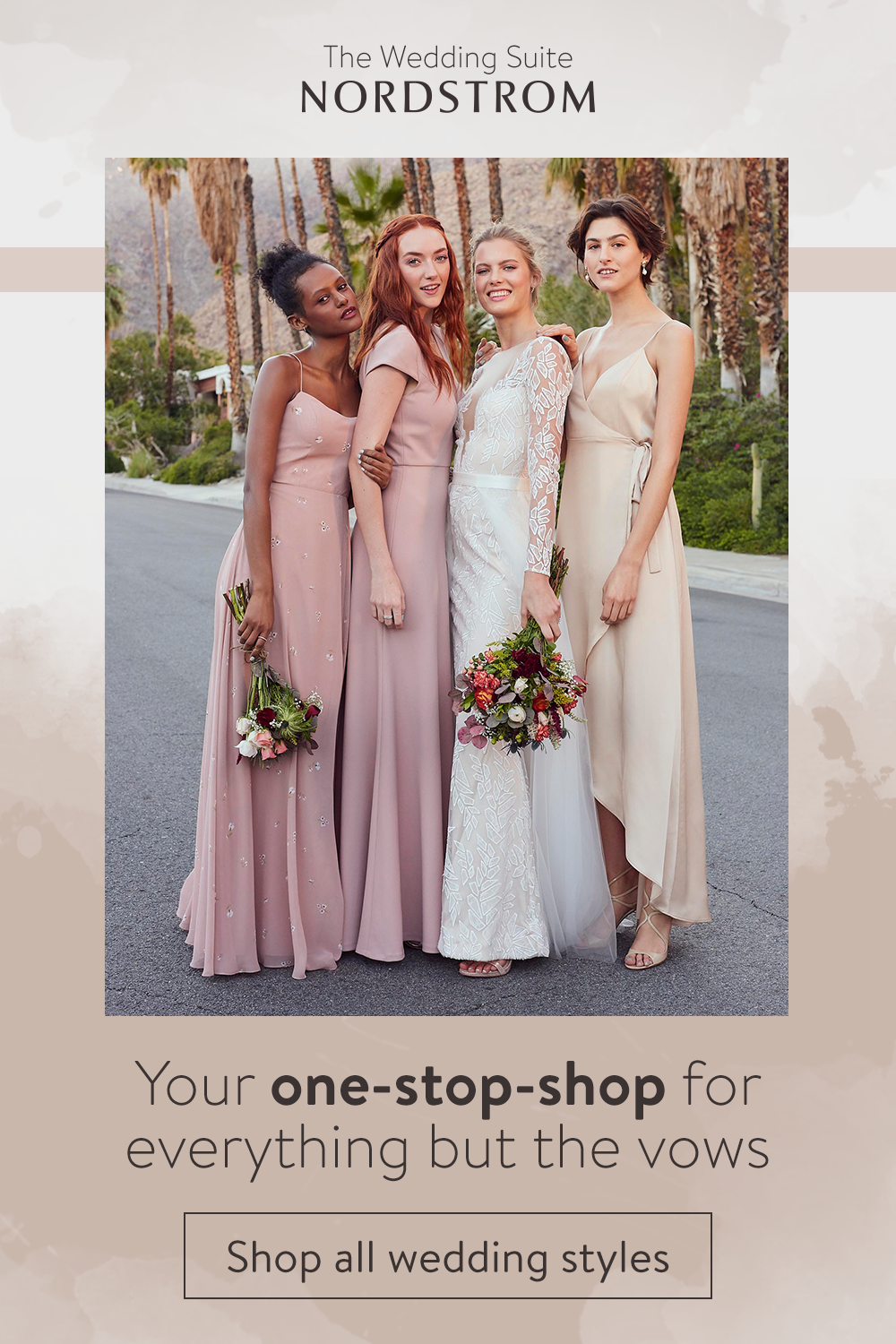 The Wedding Suite At Nordstrom Is Your One Stop Wedding Shop For Everything But The Vows Browse Wedding Gown Wedding Dresses Wedding Gowns Wedding Bridesmaids