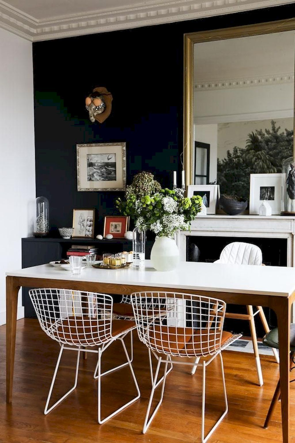 90 Modern Farmhouse Dining Room Decor Ideas | Modern farmhouse ...
