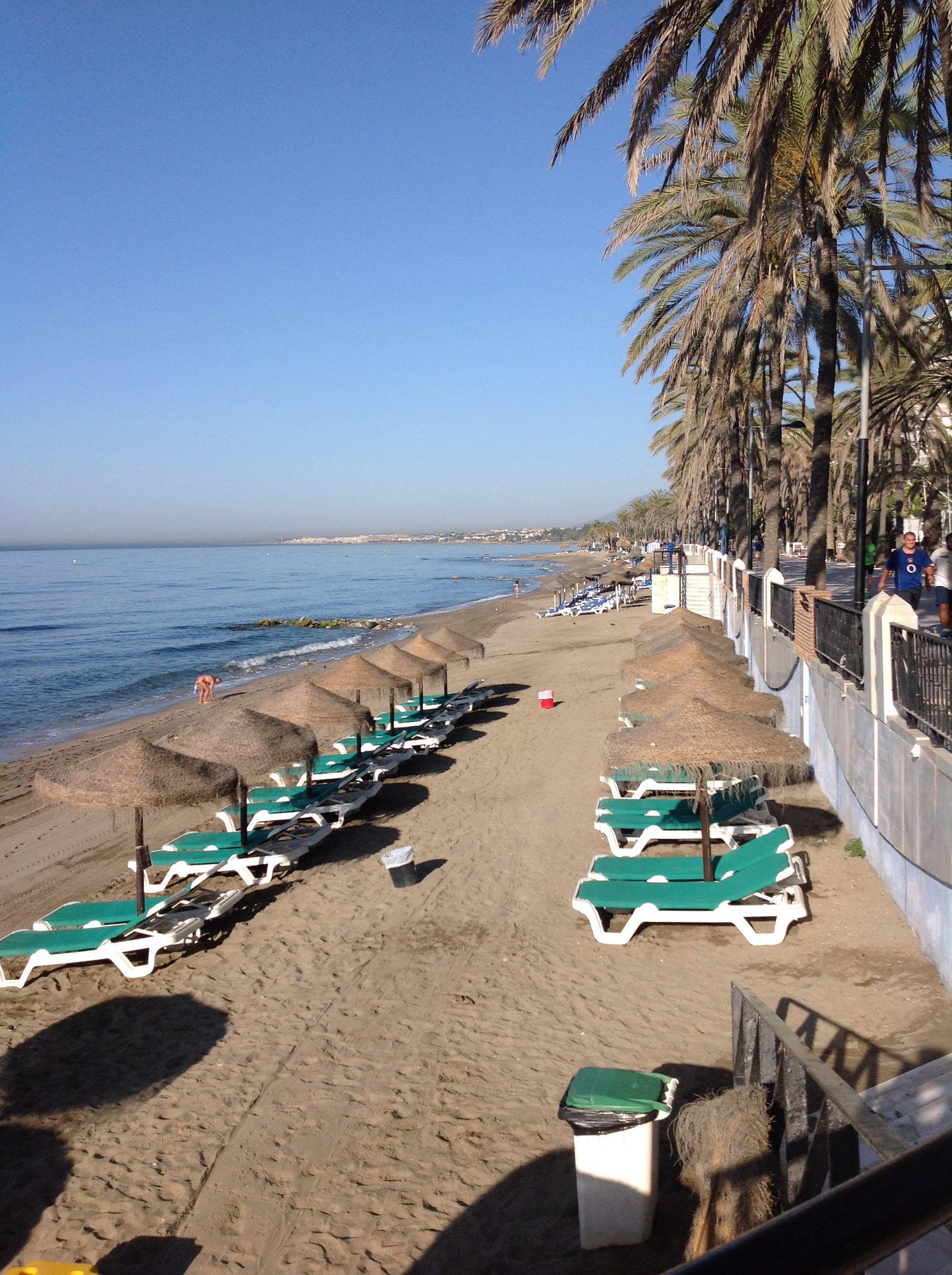 Playa De La Fontanilla Marbella Marbella Trip Spain