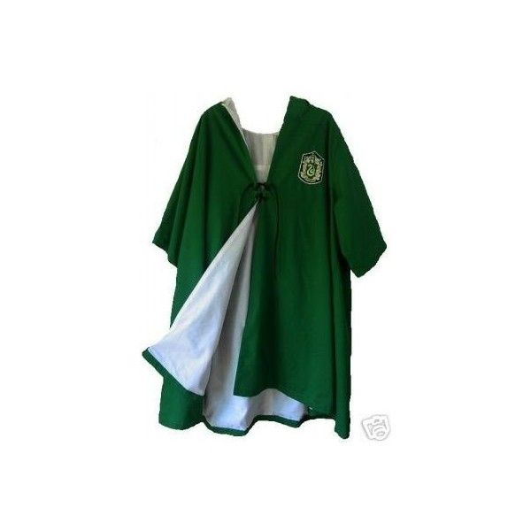 Slytherin Quidditch Robe ❤ liked on Polyvore featuring intimates ...