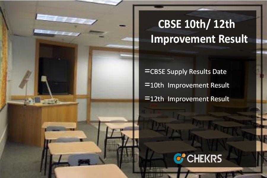 Cbse 10th 12th Improvement Result 2019 Exam Time Exam