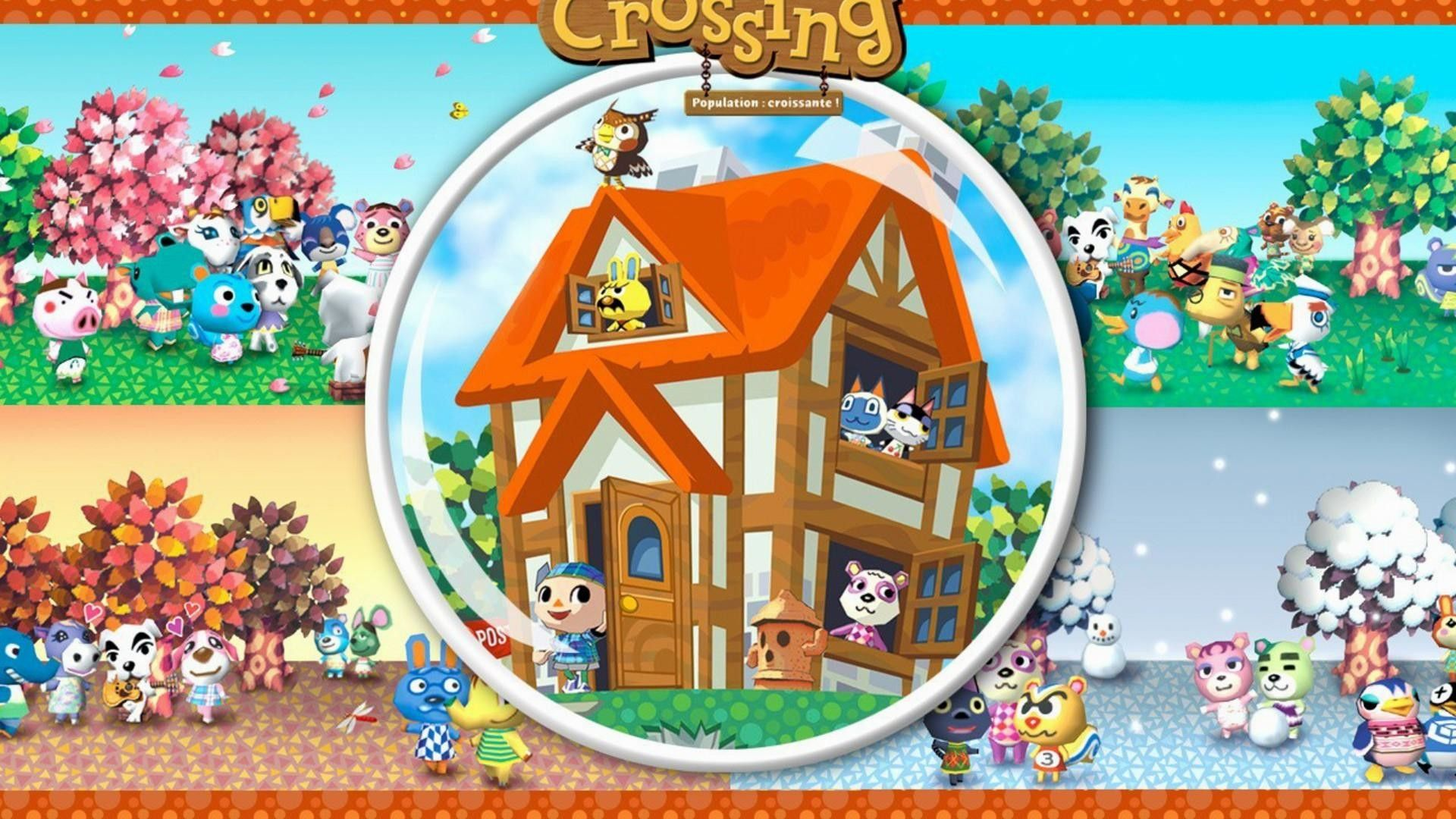 Animal Crossing Games Wallpaper