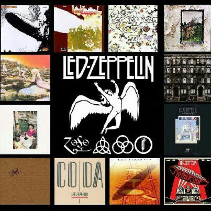 Led Zep album covers | *** Led Zeppelin *** | Led zeppelin