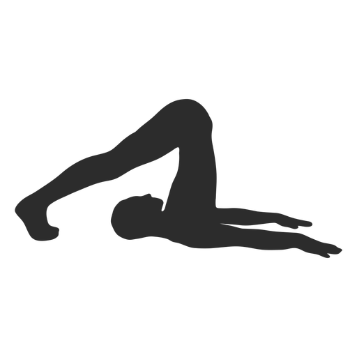 Yoga Stretch Exercise Silhouette Ad Stretch Exercise Silhouette Yoga Yoga Stretches Silhouette Png Exercise