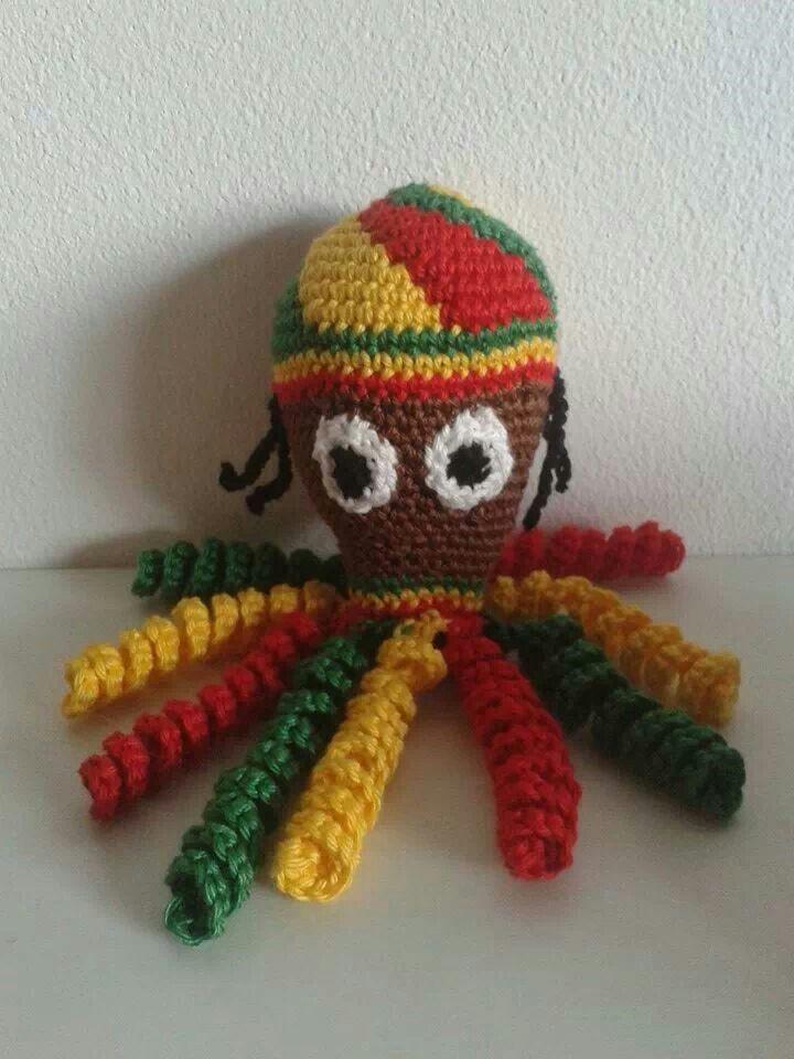 Deze Reggae inktvis genaamd \
