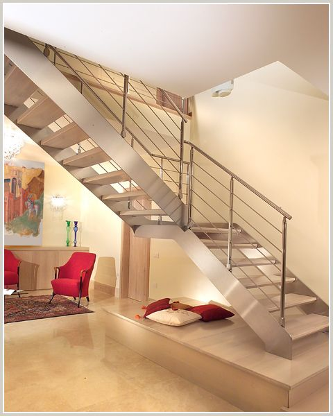 Best Stainless Glass Modular Staircase Stairs Modular 400 x 300