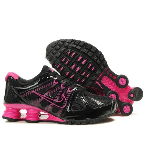Nike Shox Agent+ Shoes Black Red For Women