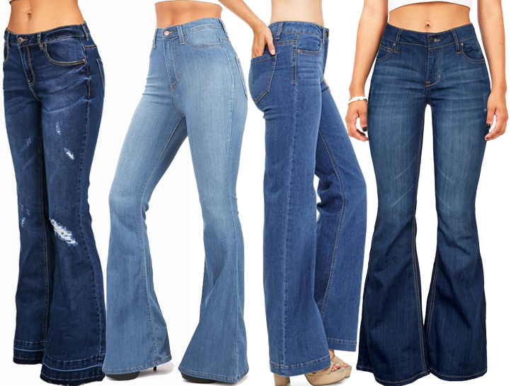Which type of bell are you? #flaredjeans #flares #bootcut #jeans