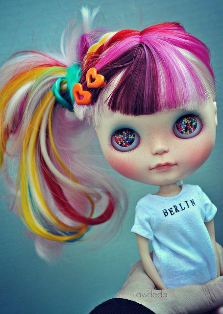 04f876d4276 Candy Girl :D in 2019 | Blythe Dolls | Blythe dolls, Cute dolls ...
