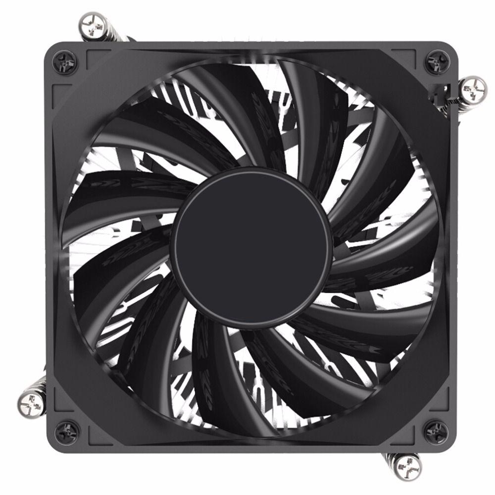 Professional 1155 1156 1u Desktop Computer Cpu Cooling Fan Cpu