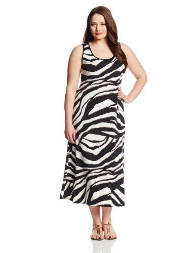 44% Off was $80.00, now is $44.99! MSK Women's Plus-Size Sleeveless Print Maxi Dress