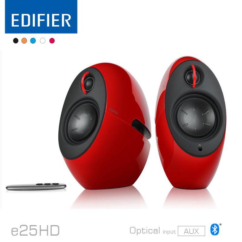 Edifier E25hd Luna Eclipse Hd Tv Und Wohnzimmer Bluetooth Lautsprecher Mit  Digital Optical Eingang Und Aux