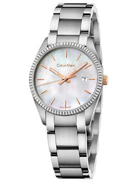 Boutique dos Relógios | Produtos | Relógios | calvin klein | Ck Alliance Lady MOP Dial / SST Bracelet