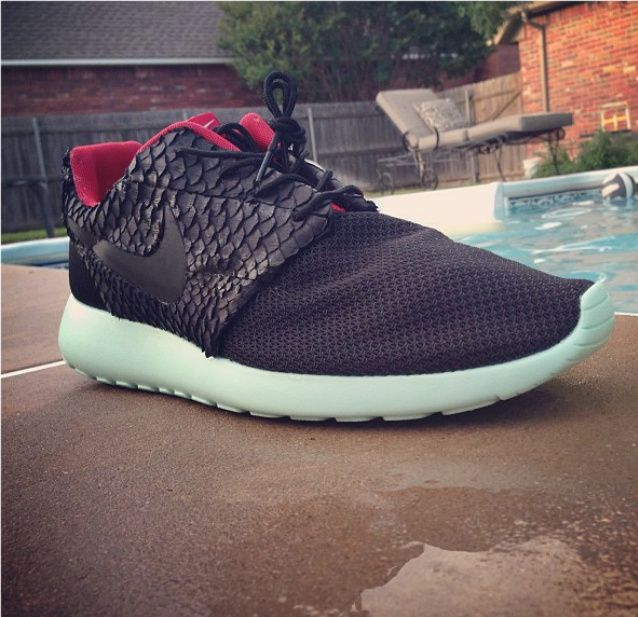 24a33ebcb3e Roshe Run Yeezy 2 customs.