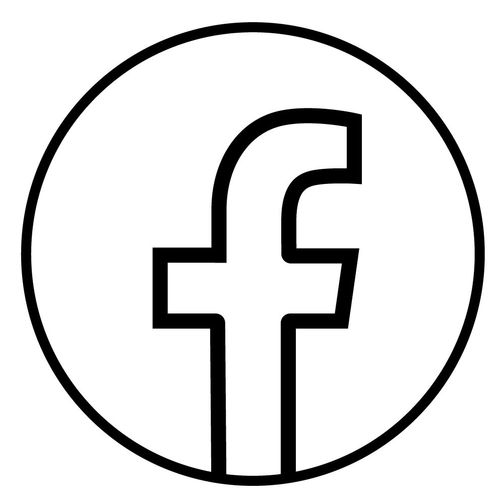 Facebook New Logo Outline Logo Outline Logos Outline